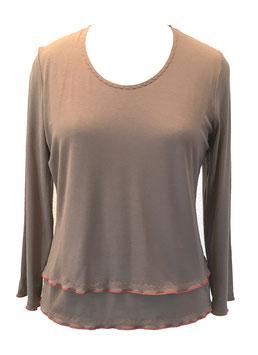 S 20-4 Shirt mit Rollsäumen