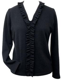 P 71 Pullover mit Rüschen