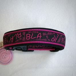 Halsband ,Blabla pink' Gr. M/L