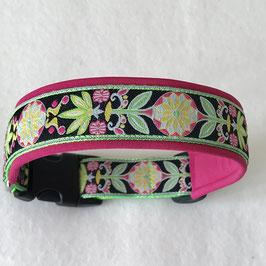 Halsband ,Windrad' pink Gr. M