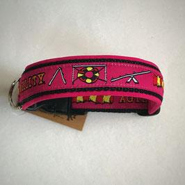 Halsband ,Agility' pink Gr. S