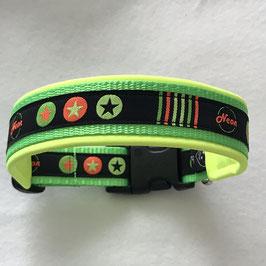 Halsband ,Neon' Gr. M/L