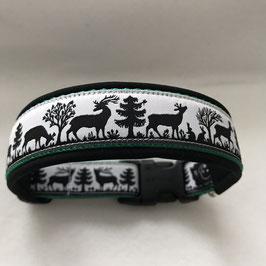 Halsband ,Hirsche/Reh Gr. M/L