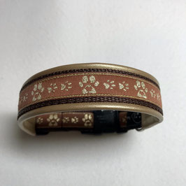 Halsband ,Pfötli gold' Gr. S