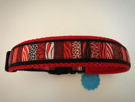 Halsband ,Afrika rot' Gr. XL