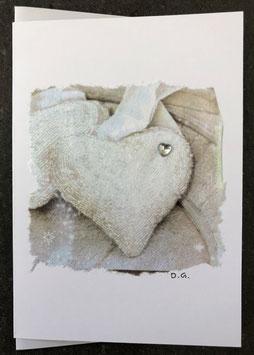 Doppelkarte Herz