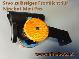 Frontlicht mit Reflektoren Stvo zulässig - Zulassungskit