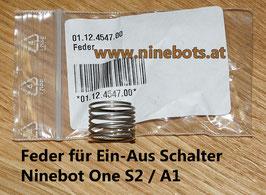 Ninebot One S2 Feder für Hauptschalter