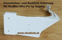 Kennzeichenhalterung Ninebot Mini Pro ohne Rücklicht