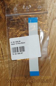 Flachbandkabel 14 Pins 95mm