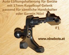 Universal Gerätehalter für Auto Lüftungslamellen