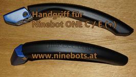Ninebot One E+ / C+ blaue Halterung inklusive schwarzem Griff