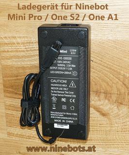 M4M Ladegerät für Ninebot Mini Pro und One S2 / A1 - 126W