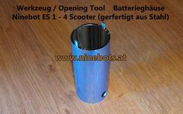Ninebot Scooter Opening Tool Batteriegehäuse