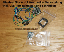 Elite Lenker Kabelsatz mit USB Port