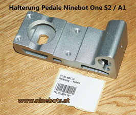 Halterung Pedale One S2 / A1
