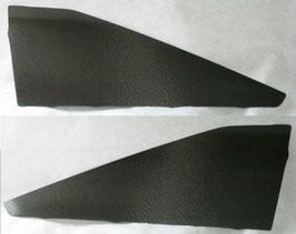 AE86 3D用 カーボンジャンキーリヤサイドウインドウ(モール無し)