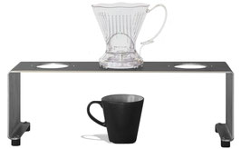 Pour-Over Station / 3er Filter Dripper Station – Brühstation /Drip Station
