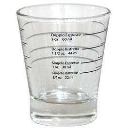 Shot-Glas mit Skalierung