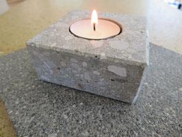 Kerzenhalter 1-Flammig Graubeton