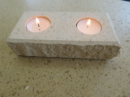Kerzenhalter 2-Flammig classic