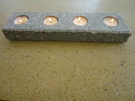 Kerzenhalter 4-Flammig Antrazith