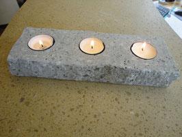 Kerzenhalter 3-Flammig Graubeton