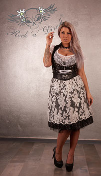 Rock ´a ´ Dirndl Schürze Ornamentic White