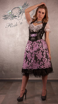 Rock ´a ´ Dirndl Schürze Ornamentic Rose