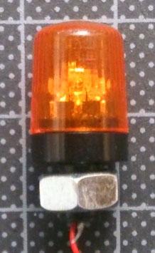 回転灯オレンジ