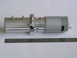 円筒状油圧ポンプ