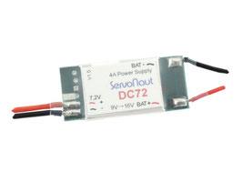 スイッチングレギュレーター12-7.2V