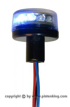 平型回転灯ブルー