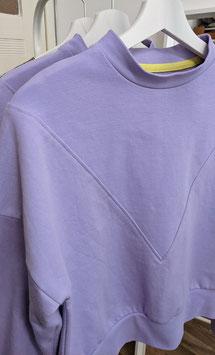 Sweatshirt hell violett