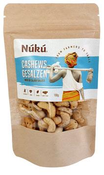 Cashews Salz und Pfeffer