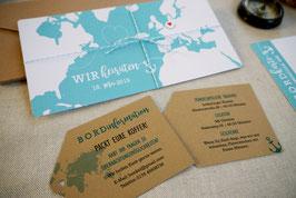 Bordinformationskarte | Reisen