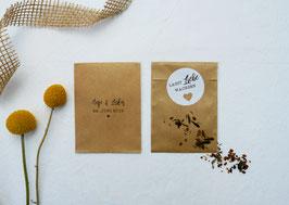 Blumensamentütchen | Gastgeschenk | Herz
