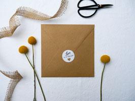 Personalisierter Briefsiegel | Aufkleber