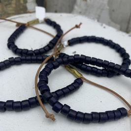 Blue Clay Beads