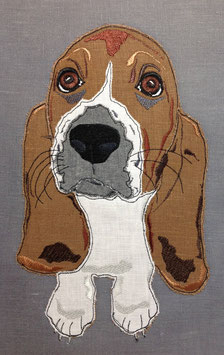 Bassett Hound  Pillow