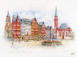 Frankfurt am Main - Römer Ostseite
