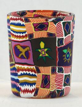 Votiv-Glasbecher Inka