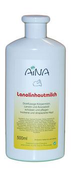 AINA Lanolinhautmilch
