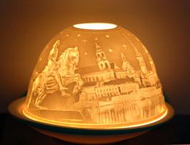 Porzellan-Windlicht  Dresden