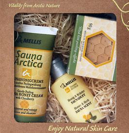 Sauna-Set Honig