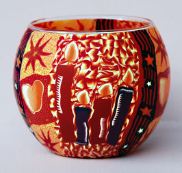 Teelicht-Leuchtglas Kerzen