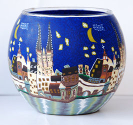 Teelicht-Leuchtglas Regensburg