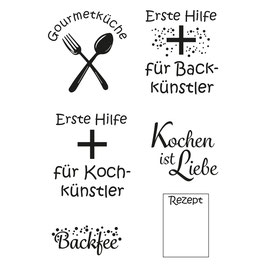 Clearstamp Set *Kochen*