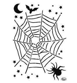 Halloween Universal-Schablonen!