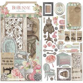 BoBunny - Noteworthy passend zu der Designerpapier Serie *Soirée*